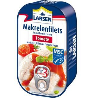 NEU - super-saftig und super-lecker:MAKRELENFILETS in verschiedenen Saucen.Ohne Haut - praktisch grätenfrei - Reich an O...